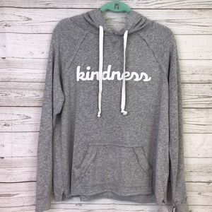 Grayson Threads Hoodie gray Kindness light soft L